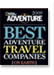 National Geographic Adventure Magazine - Best River & Sea Outfitter on Earth