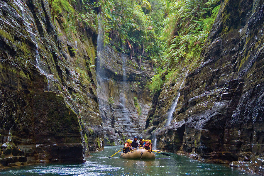 Fiji's Upper Navua River Rafting with O.A.R.S