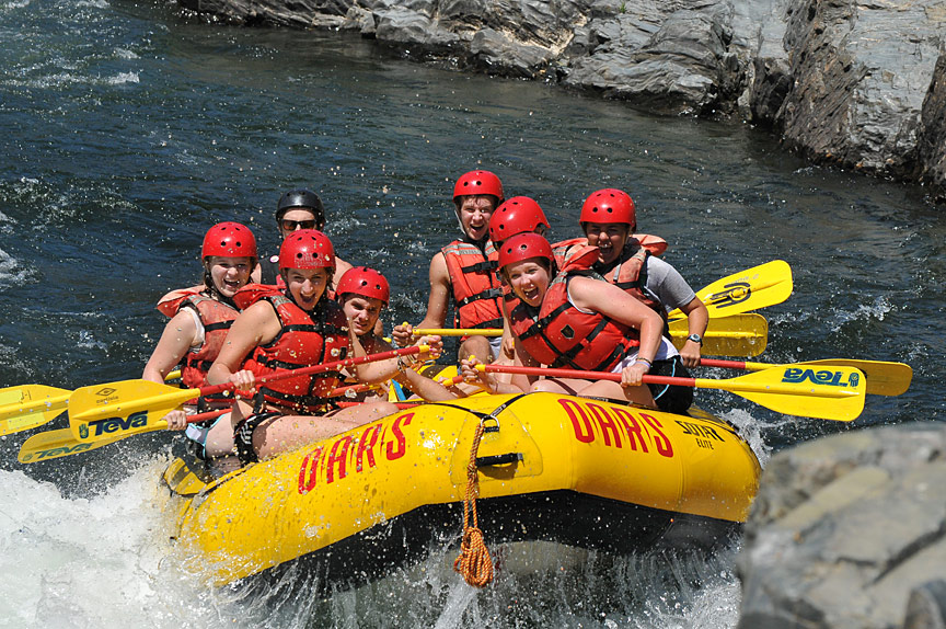 American River Rafting South Fork California Rafting Sacramento