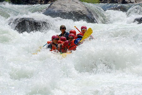 Class IV California Rafting on the Tuolumne