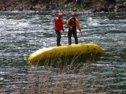guide certification whitewater
