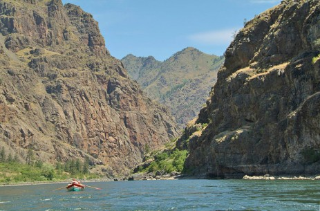 Hells Canyon below the put-in