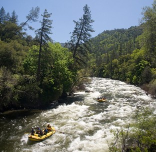Merced River Rafting near Yosemite