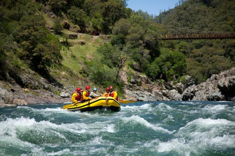 Rapids on the North Fork American River ~Photo Credit: Justin Bailie