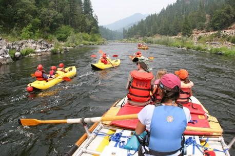 Lower Klamath River Rafting in California