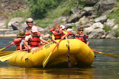 California Family Rafting Vacation