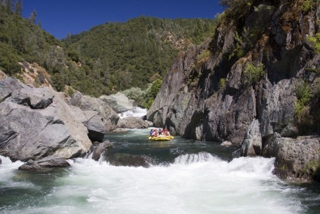 Rafting the Class IV Middle Fork American River
