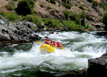 Class IV California Whitewater Rafting