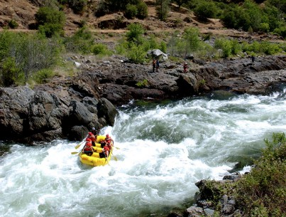 Middle Fork American River Whitewater Rafting