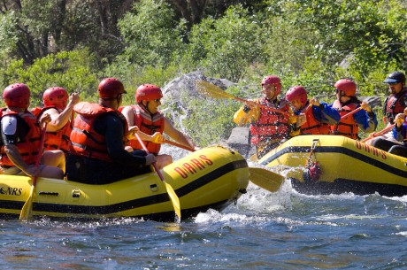 Water Fight on the Merced River