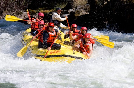 Yosemite Whitewater Rafting