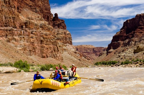 Colorado River through Cataract Canyon