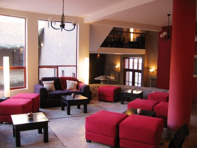 Salkantay Lodge Living Room