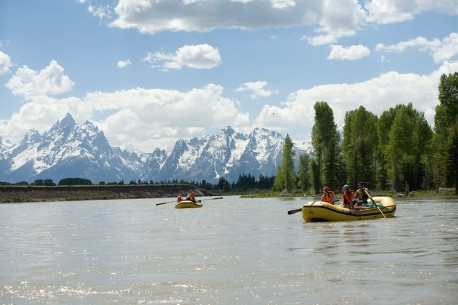 Snake River in Grand Teton National Park