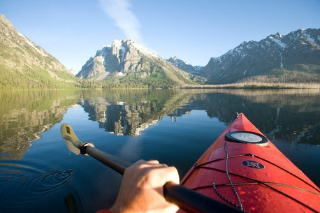 Jackson Lake Kayak