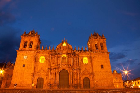 The Cathedral of Santo Domingo, also known as Cusco Cathedral