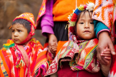 Native Peruvian Children