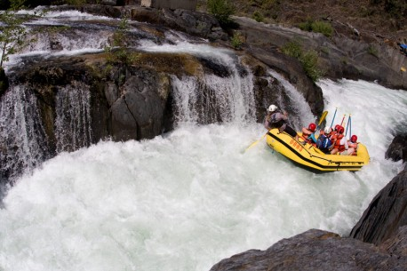 Tunnel Chute from Above - Middle Fork American River Rafting