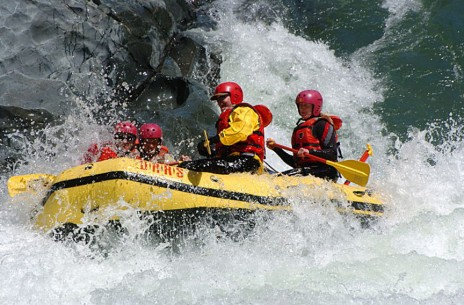 Class IV Whitewater Rafting - North Fork American River, Chamberlain Falls