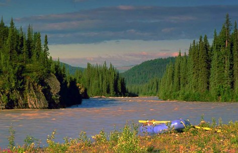 Talkeetna River  - Photo credit Nova