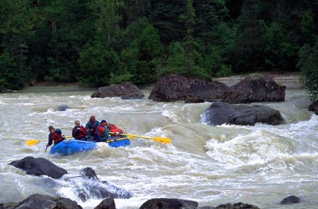 Talkeetna River Rafting in Alaska  - Photo credit Nova