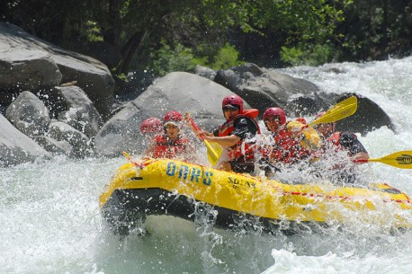 Class IV California Rafting on the Tuolumne River