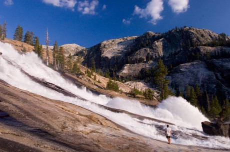 Wagon Wheel Falls in Yosemite