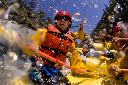 North Fork of the American River Rafting