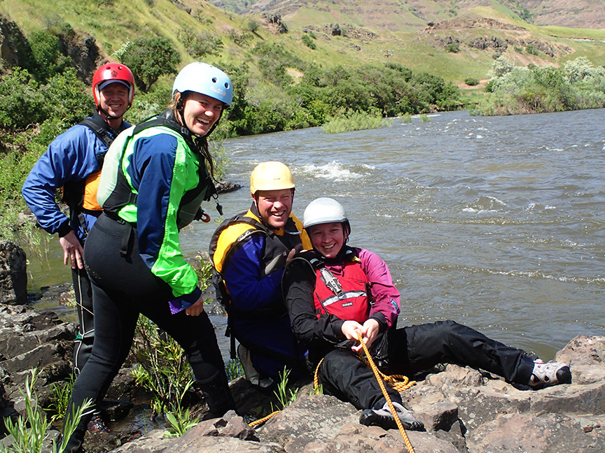 Whitewater Guide School with OARS