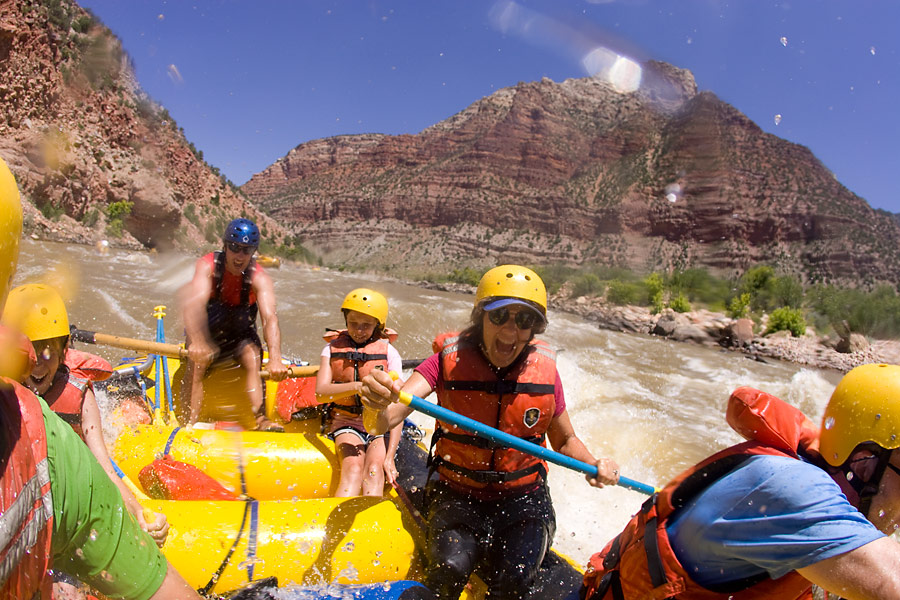 Yampa River Family Vacation