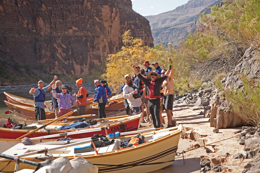 "Grand Canyon Rafting Trip - ""Tequila Beach"""