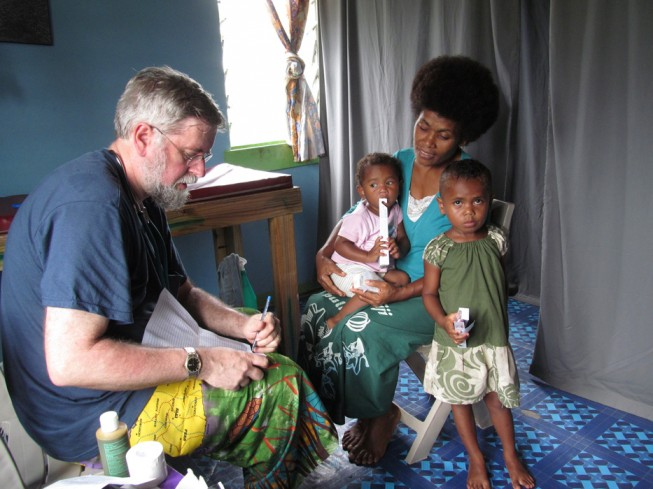 Rivers Fiji volunteer