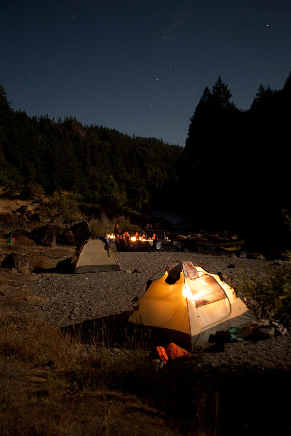 Going Rogue: A Self-proclaimed City Girl Goes Camping for the First Time