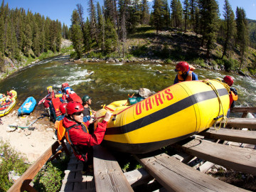Middle Fork Salmon rafting