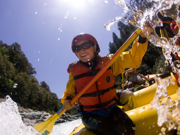 California whitewater rafting