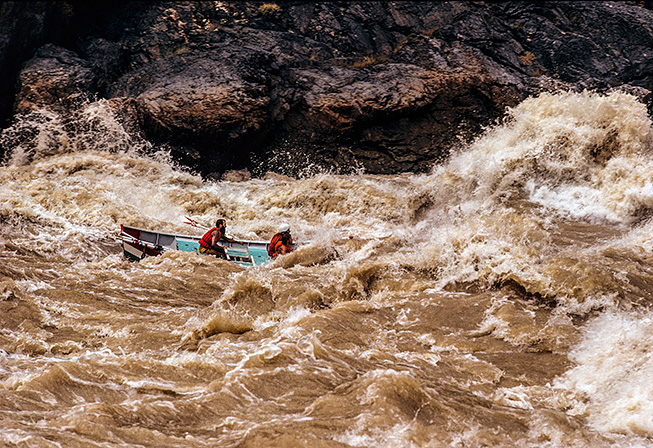 True Tale of the Fastest Boat Ride Through the Grand Canyon