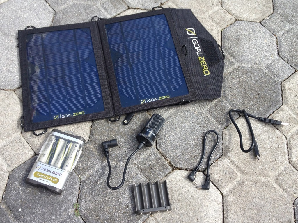 Gear Review: Goal Zero Guide 10 Solar Charger