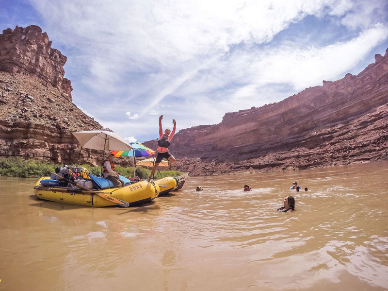 Advice for How to Beat the Heat on a Rafting Trip
