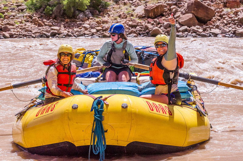 Tricks and Tips to Help You Survive the Heat on a Rafting Trip