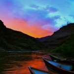 Grand Canyon Dories at sunset A good day to be alive! -Devin, California