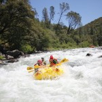 "Tuolumne River, California 18 miles / Class IV The Wild & Scenic Tuolumne River is one of the few real wilderness river trips in California. In the spring the canyon walls are covered with brilliant orange poppies and purple lupine. Arguably the best whitewater trip in the state, the ""T"" delivers constant action, including the infamous Class IV+ Clavey Falls. In summer, a side-hike up the Clavey River to its hidden swimming holes is a great way to beat the heat.   Photo: Picture This"