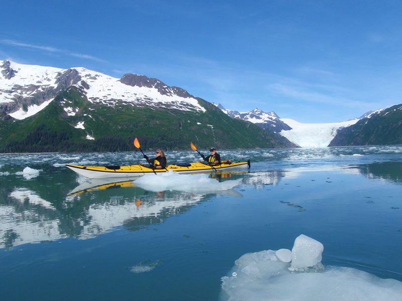 10 of the Best Sea Kayaking Spots in the World | Kenai Fjords National Park, Alaska