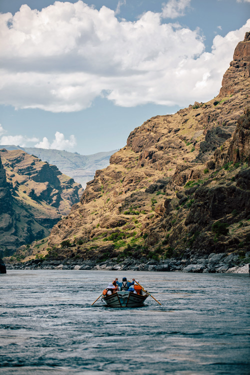 Dory in Idaho's Hells Canyon