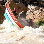 Grand Canyon Dories offer up a wild ride through high water in the Grand Canyon. Photo: Ben Horton