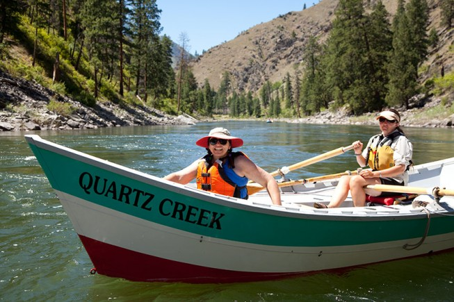 Quartz Creek Dory