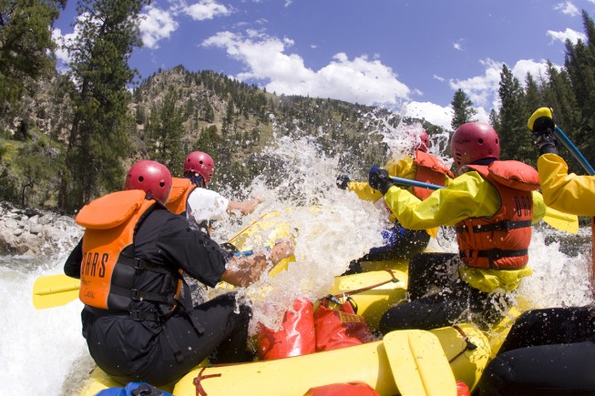 Middle Fork Salmon River rafting, Idaho