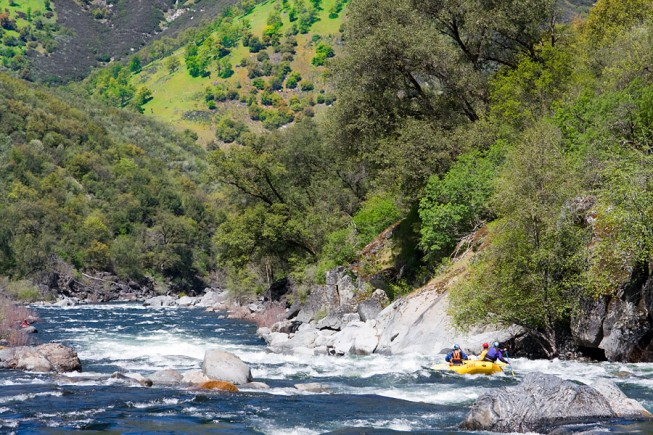 California Rafting | Tuolumne River near Yosemite National Park