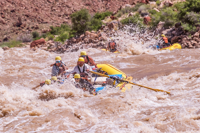 Rafting in Canyonlands National Park