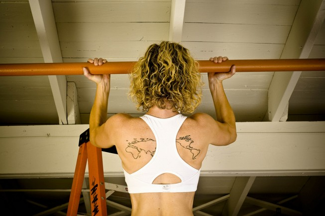 Pull ups - Photo: Melissa Donald