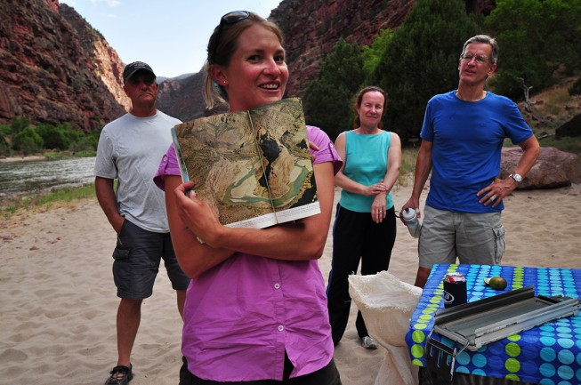O.A.R.S. River Guide Joelle Stanions